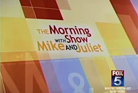 Adorn Brides on the Mike & Juliet show on FOX