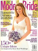 Click image to see the article as it appears in Modern Brides.