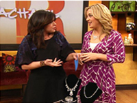 The Rachel Ray Show and consumer expert Jennifer Jolly presented the Adorn bridal jewelry rental process