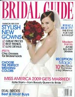 Click image to see Adorn jewelry worn by Miss America 2009 in Bridal Guide magazine