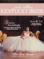 Click image to see Adorn jewelry worn in The Kentucky Bride magazine