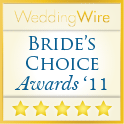 Wedding Wire Customer Service Award
