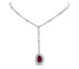 Rubilite Diamond Necklace - Rent Jewelry | Rent for $250.00