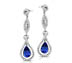 Diamond Earrings - Grantham Earrings - Tanzanite | Rent for $190.00
