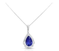 Tanzanite Diamond Pendant-Rent Jewlery | Rental Price - $200.00