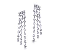 Rhea Diamond Earrings - Rent Fine Diamond Earrings | Rental Price - $160.00