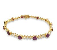 Ruby Diamond Bracelet - Rent Jewelry | Rental Price - $200.00