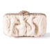 Rent Clutches - Ivory Tulle - Marilyn Clutch | Rent for $110.00