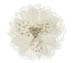 Rent Hair Accessory - Ivory Silk Flower - Countess 760 | Rent for $65.00