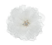 Rent Hair Accessory - Silk Net Flower - Princess 653 | Rental Price - $60.00