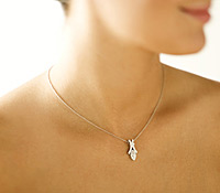 Occasions Jewelry Rental: Marquis Diamond Pendant | Rental Price - $130.00