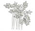 Rent Hair Combs - Swarovski Crystal Pearl - Caroline 707 | Rent for $50.00