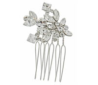 Rent Hair Accessory - Swarovski Crystal Comb - Parker 709 | Rental Price - $35.00