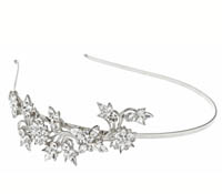 Rent Hair Accessory - Swarovski Crystal Headband - Grace 732 | Rental Price - $80.00
