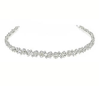 476a3ca5918 Wedding Hair Accessory - Swarovski Crystal - Headband - 734