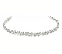 Rent Hair Accessory - Swarovski Crystal Headband - Alexandra 734 | Rental Price - $85.00