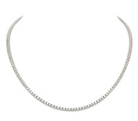 wedding jewelry: Infinity Diamond Necklace | Rental Price - $200.00