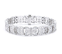 Vintage Diamond Bracelet: Rent Jewelry for Special Occasions | Rental Price - $170.00
