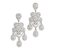 Lockwood Diamond Chandelier Earrings - Borrow Special Occasion Jewelry! | Rental Price - $230.00