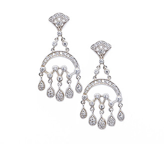 Wolfson Chandelier Diamond Earrings Jewelry Al For Special Occasions Price 130 00