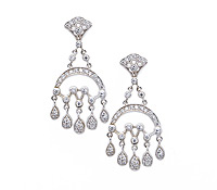 Wolfson Chandelier Diamond Earrings - Jewelry Rental for Special Occasions | Rental Price - $130.00