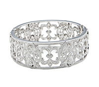 Rent Fine Jewelry: Diamond Cuff Bracelet | Rental Price - $260.00