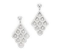 Adkins Deco Diamond Earrings - Occasions Jewelry Rental! | Rental Price - $160.00