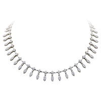 Stunning Diamond Necklace - Rent Occasion Jewelry | Rental Price - $520.00