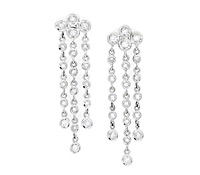 Diamond Chandelier Earrings as Special Occasions Jewelry Rental | Rental Price - $130.00