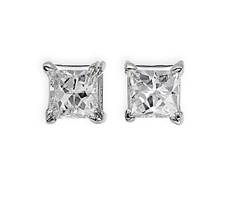 Jewelry Diamonds 2 05 Tw Gold 14k White Post Width