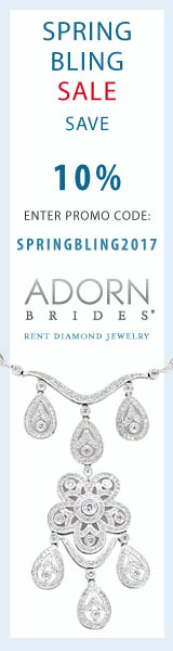 Receive 10% off before 6/30/2017, use Promo Code SPRINGBLING2017