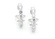 Borrow Wedding Jewelry - diamond earrings